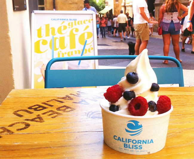 California Bliss lance son frozen yogourt sans lactose