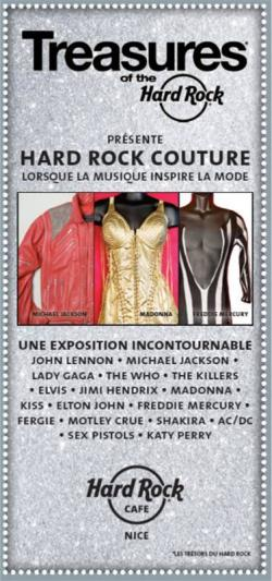 Hard Rock Couture : L'exposition qui balance !