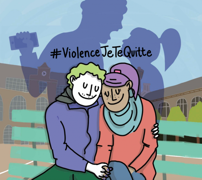 #ViolenceJeTeQuitte