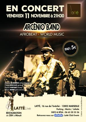 ARCENIO BAND (world music)