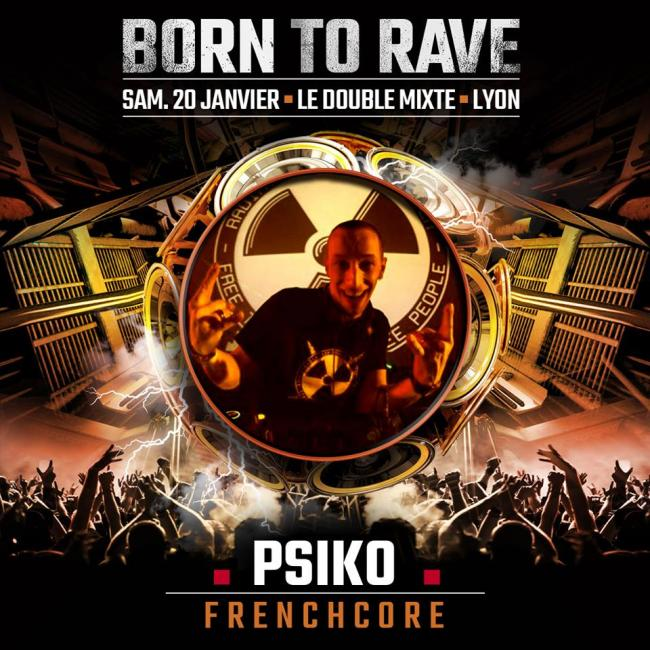 Born to rave au Double Mixte