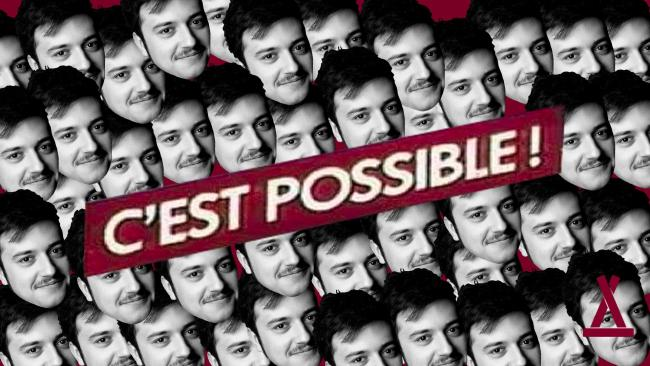 C'est possible ! w/ Master Phil + Jean Baton