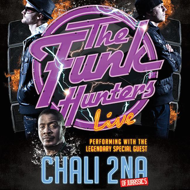 Chali 2NA & The Funk Hunters au Moulin à Marseille