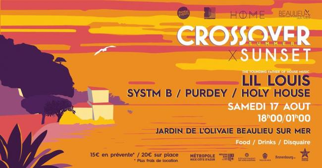 Crossover Summer Sunset Party - Beaulieu-sur-Mer