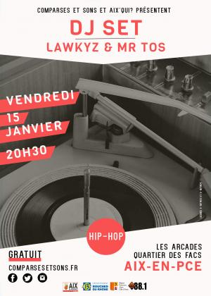 DJ SET LAWKYZ & MR TOS