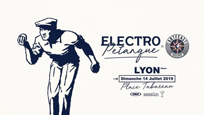 Electro Pétanque is Back - Lyon