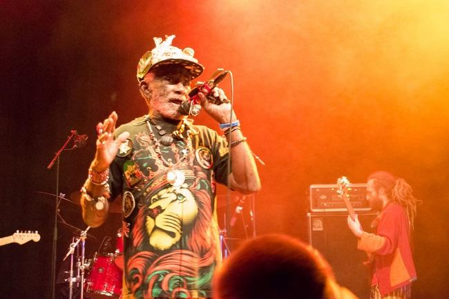 "Lee ""Scratch"" Perry au Moulin à Marseille"