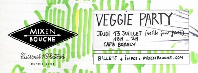mix en bouche : veggie Party
