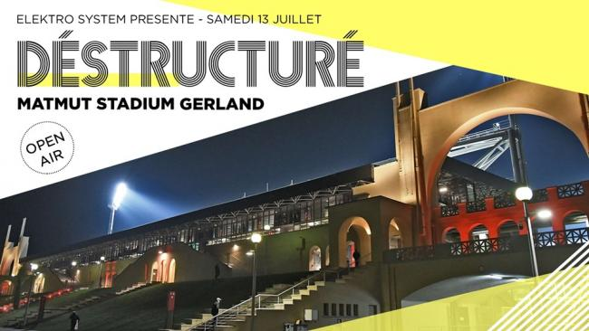 Open-air Destructuré au Matmut Stadium Gerland - Lyon