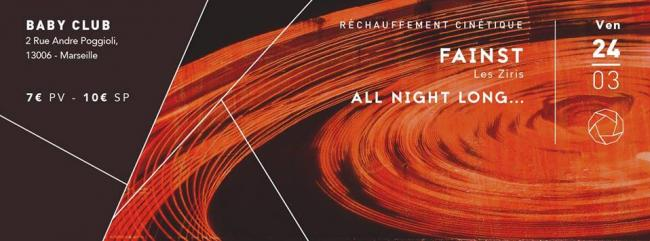 Réchauffement cinétique: Fainst Birthday ALL NIGHT LONG