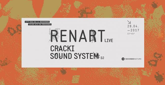 Seconde Nature invite Renart & Cracki Sound System