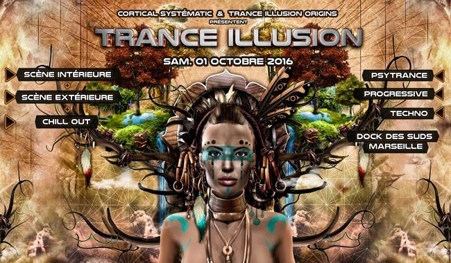 Trance Illusion tranforme le Dock en jungle Amérindienne