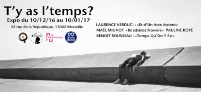 """T'y as l'temps"" s'expose au 52 rue de la République"