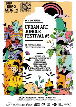 Urban Art Jungle Festival #5 - Villeurbanne